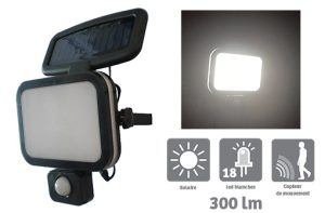 Solar Spotlight Clayton 460lm - AIC International