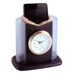 Small clock with door-glasses