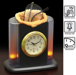 Small clock with door-glasses - AIC International