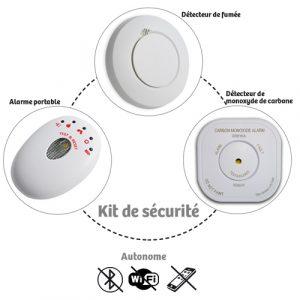 Pack Alarme sans fil Detectys - AIC International