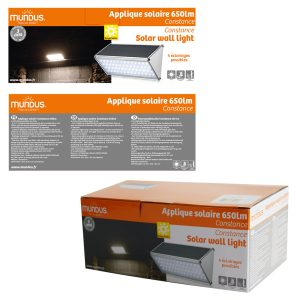 Wall solar light 160lm Bale