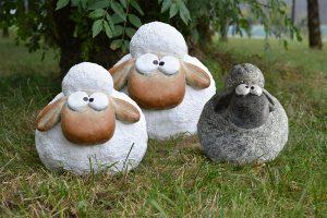 Décoration Mouton Aaron 36.5 cm