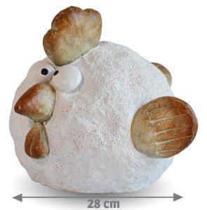Décoration Roule la poule 28 cm