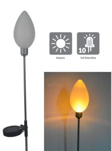 Solar decoration Pompon 70cm - AIC International