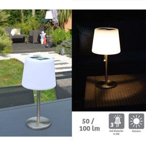 Lampe solaire de table Mora 100lm - AIC International