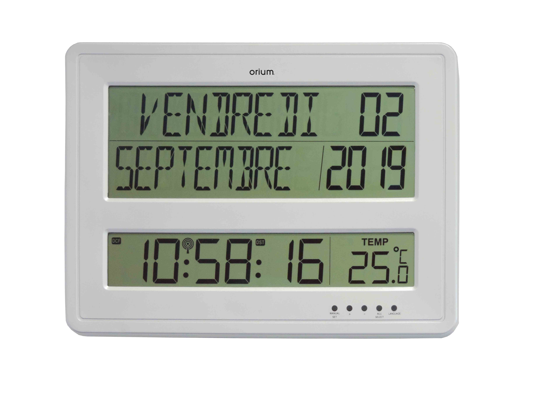 Calendrier Digital.Digital Rc Clock With Calendar Aic International