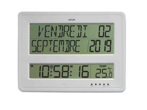 Digital RC clock with calendar - AIC International