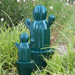 Cactus d'extérieur Yuma Vert 35 cm