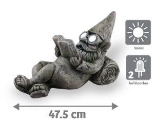 Nain lumineux solaire Blaise 47cm - AIC International