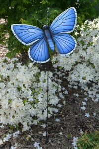 Papillon décoratif géant Sublimis H115cm