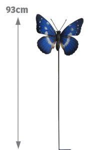 Papillon décoratif d'extérieur Intenso H93cm - AIC International
