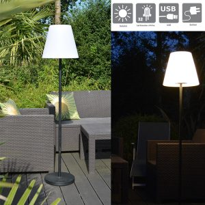 Lampadaire solaire Verone 700lm - AIC International