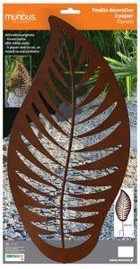 Feuille décorative Floralie H102 cm