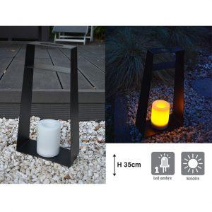 Lanterne solaire Elitis H35cm - AIC International