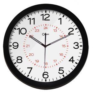 Horloge silencieuse cadran 24h - AIC International