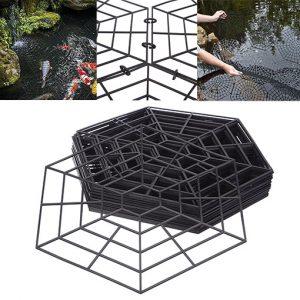 Lot 20 grilles de protection pour bassin aic international - Protection bassin de jardin ...