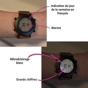 Montre Hebdomadaire Luce (EN) - AIC International