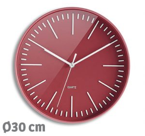Horloge Atoll 30cm – Brique - AIC International