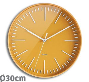Horloge Atoll 30cm – Jaune - AIC International