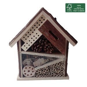 FSC 100% Insect hotel Natural 30 cm - AIC International