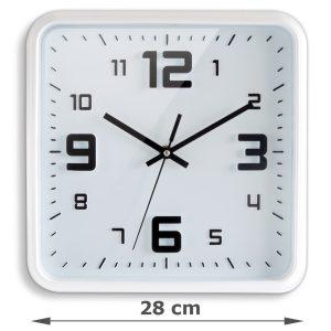Square clock 28 cm - AIC International