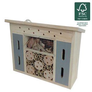 Hôtel à insectes Méli Ø29 FSC® certifié 100% - AIC International