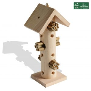 FSC 100% Insect hotel Paco H29.5 cm - AIC International
