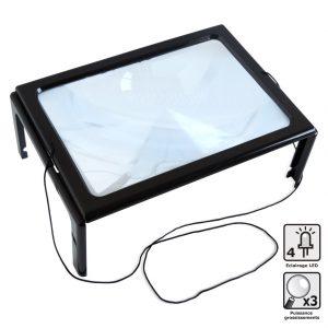 Loupe à poser grand format LED - AIC International