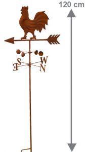 Girouette à piquer Serama H120 cm - AIC International