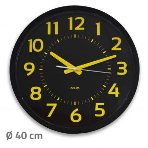 Horloge Contraste silencieuse Ø40 cm - AIC International
