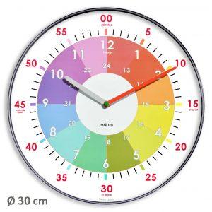"""standard"" clock Ø 29,5 cm - AIC International"