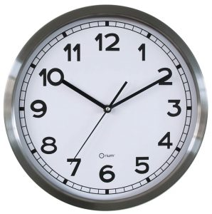 Basic metal clock Ø34 cm - AIC International