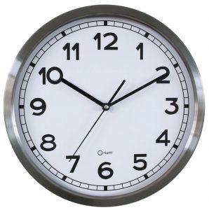 Horloge basique métal Ø34 cm - AIC International