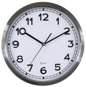 Basic metal clock Ø34 cm - AIC International