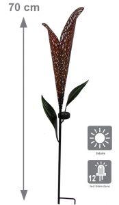 Déco solaire à piquer Luis 70cm - AIC International