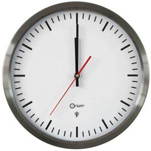 Inox RC clock  Ø34 cm - AIC International