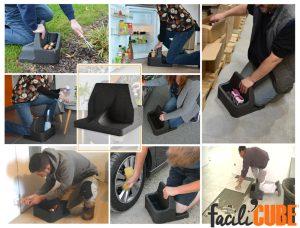Folding Kneeler for garden