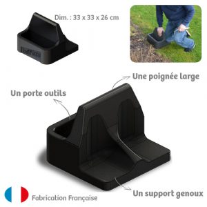 Repose Genou Facili'CUBE avec emballage - AIC International