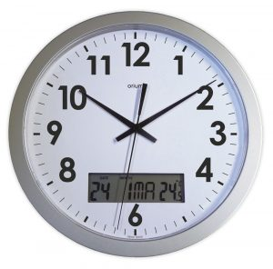 Quartz clock with date Ø30 cm - AIC International