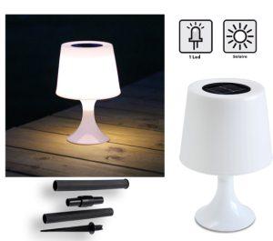 Lampe solaire Diabolo 2 en 1 - AIC International