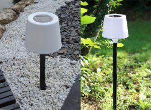 Lampe solaire Diabolo 2 en 1