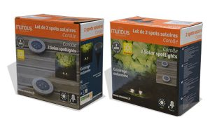 2 spotlights to embed – Corolle