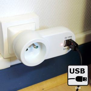 Prise 2 chargeurs USB - AIC International