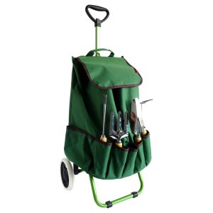 Chariot de jardin + 4 outils - AIC International