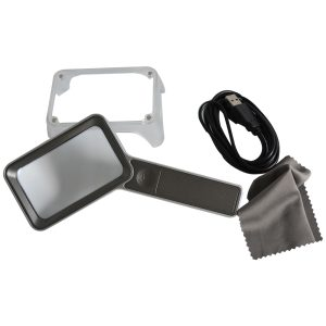 Rechargeable Magnifier Duo magnetis