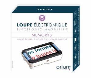Electronic magnifier Memorys