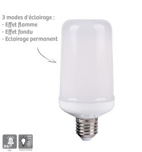 Ampoule LED Effet Flamme - AIC International