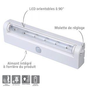 Magnetis orientable night light - AIC International