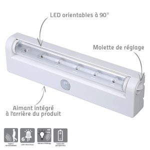 Veilleuse orientable Magnetis - AIC International
