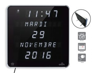 Horloge Ephéméris LED Blanc DST - AIC International